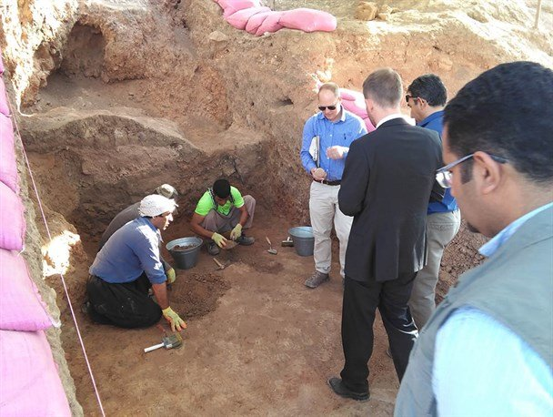 Iranian, Danish archaeologists probing Neolithic settlement in Ganj Dareh