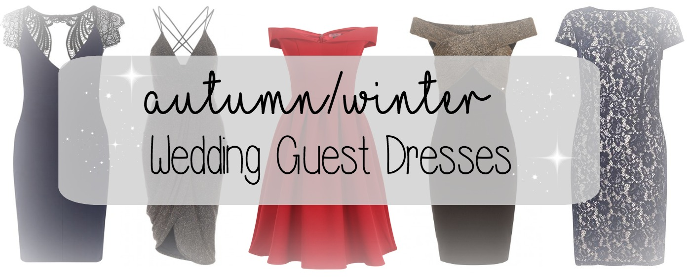 autumnwinter wedding guest dresses winter wedding guest dresses Choosing an outfit to wear to a wedding can be quite a task in the Summer even when florals bright colours or pastels colours are all potential options