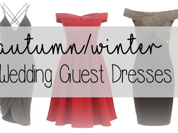 Autumn/Winter Wedding Guest Dresses