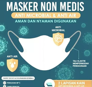Masker Mahal, Cara Merubah Masker Bahan 2 Play Menjadi Sarung Masker 5 Play