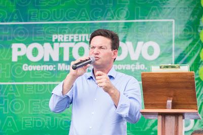 Ministro da Cidadania João Roma na Inauguração da nova sede do CRAS Ponto Novo - Foto: Romilson Almeida