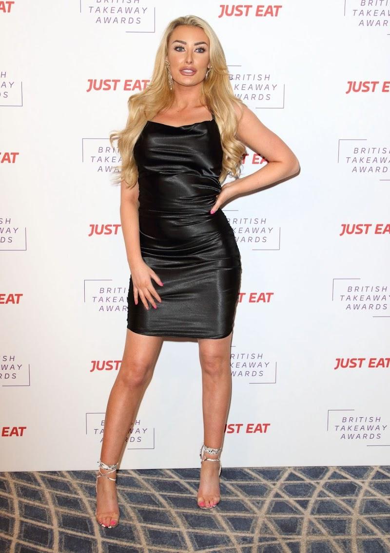 Chloe Crowhurst Clicks at British Takeaway Awards in London 27 Jan-2020