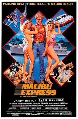 Poster Malibu Express 1985 Dual Audio HD 720p