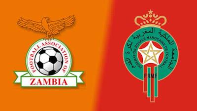مشاهدة مباراة المغرب وزامبيا اليوم 31-1-2021 بث مباشر في بطولة افريقيا للمحليين