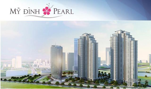 Phối cảnh chung cư Mỹ Đình Pearl
