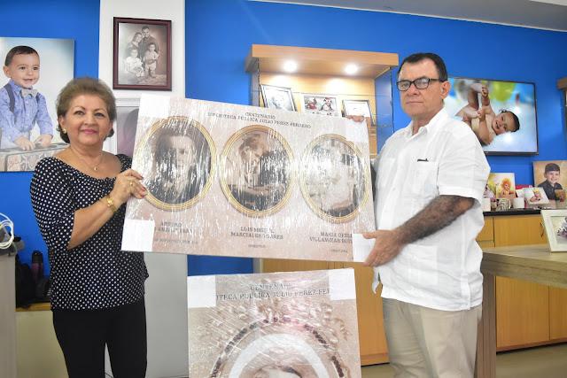 Foto Estudio Carmary dona archivos fotográficos históricos a la Biblioteca Pública Julio Pérez Ferrero.