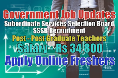 SSSB Recruitment 2020
