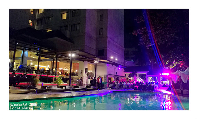 The Pool Bar at Cebu City Marriott Hotel