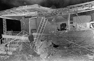 The Rev. A. D. King's home bombed after the agreement of desegregation of Birmingham announced.