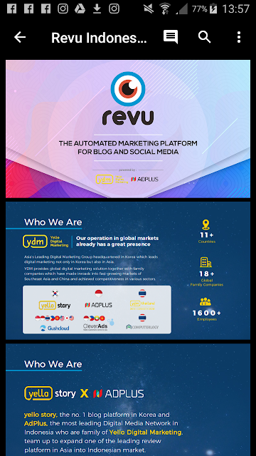 Review di Revu