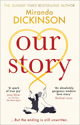 Our Story by Miranda Dickinson book cover