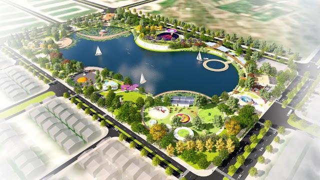 Công viên Thiên Văn Học & Hồ điều hòa Bách Hợp Thủy.