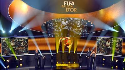 entrega del Balón de Oro 2013-2014