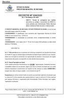 Prefeitura de Ibicoara suspende aulas