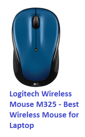 Logitech Wireless Mouse M325 - Best Wireless Mouse for Laptop