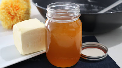Ghee From Unsalted Butter