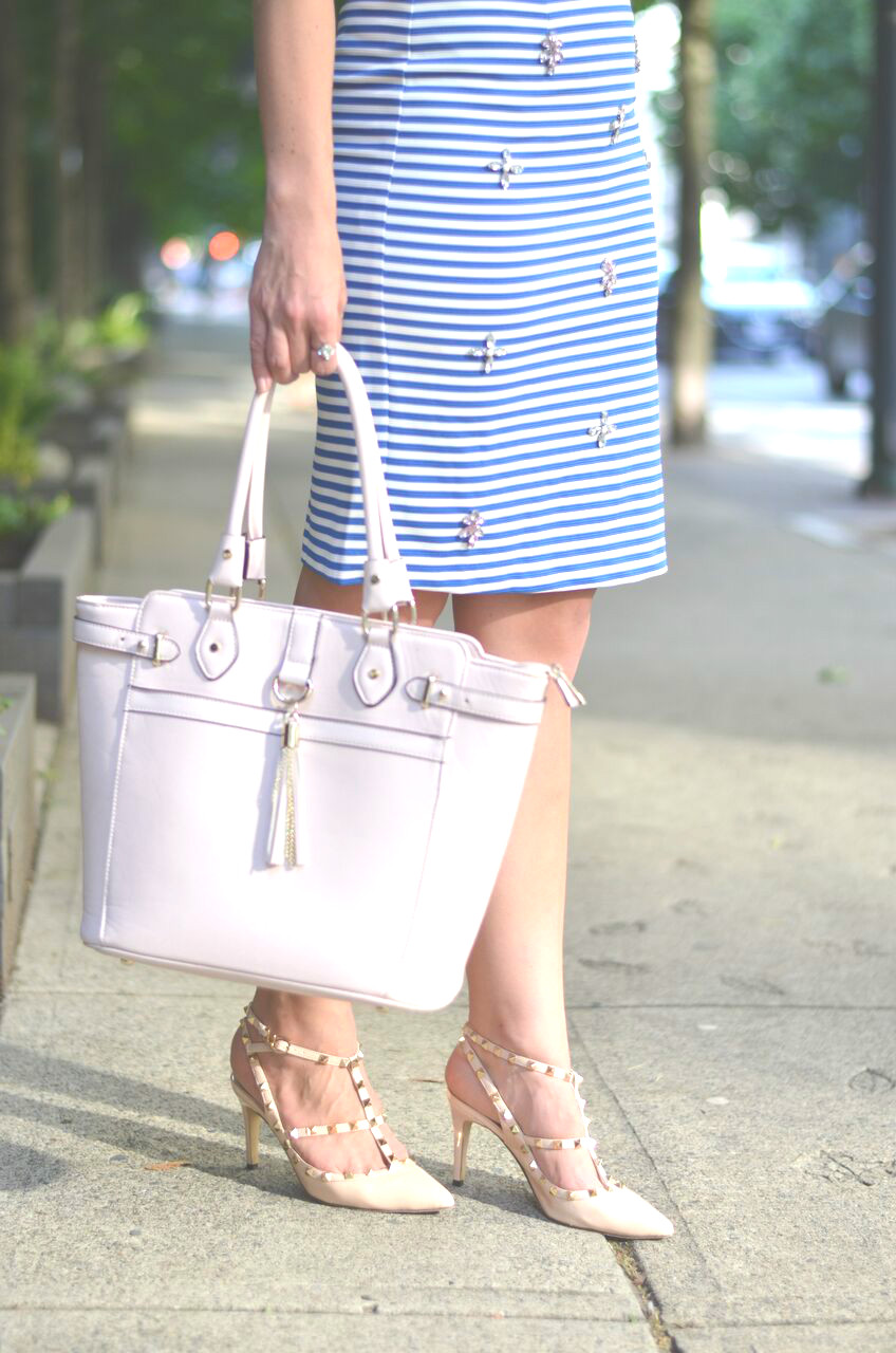 stripes-jewels-pencil-skirt