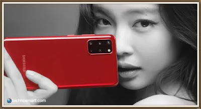 samsung galaxy s20 plus,galaxy s20 plus,samsung galaxy s20 plus jennie red colour,