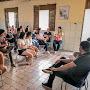 Durante recesso do carnaval prefeito de Jaguarari se reúne com estudantes visando ampliar o transporte universitário gratuito