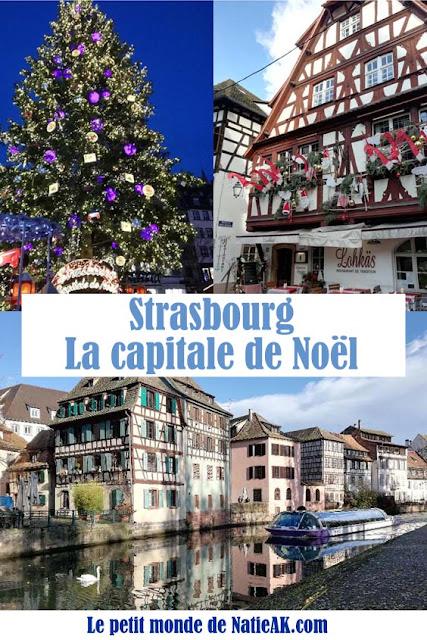 visiter en 2 jours  Strasbourg à Noël