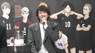 "Hellominju.com : ハイキュー!! TO THE TOP ジャンプフェスタ2021   島﨑信長   Haikyū!! Jump Festa""   Hello Anime !"
