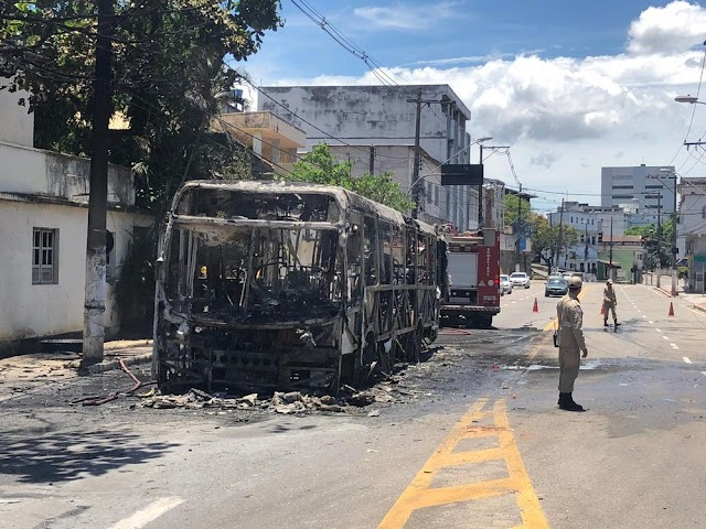 Ataques de criminosos em Vitória, ES