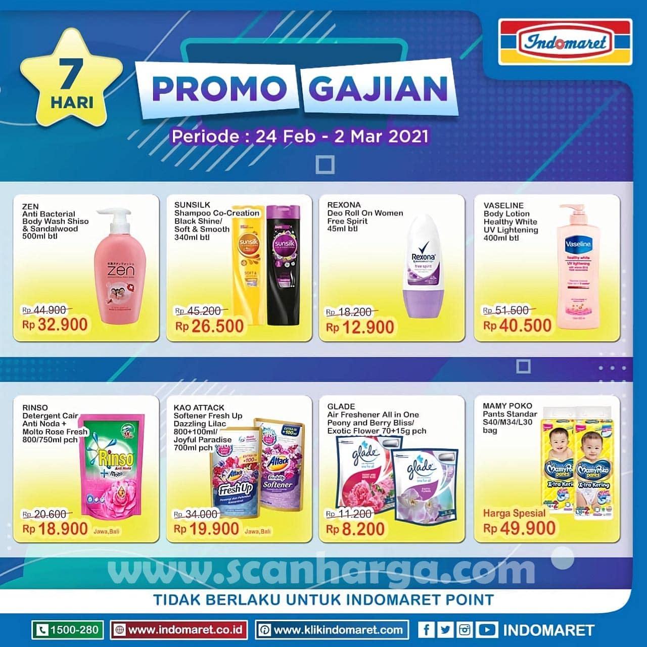 INDOMARET Promo GAJIAN Periode 24 Februari - 2 Maret 2021 2