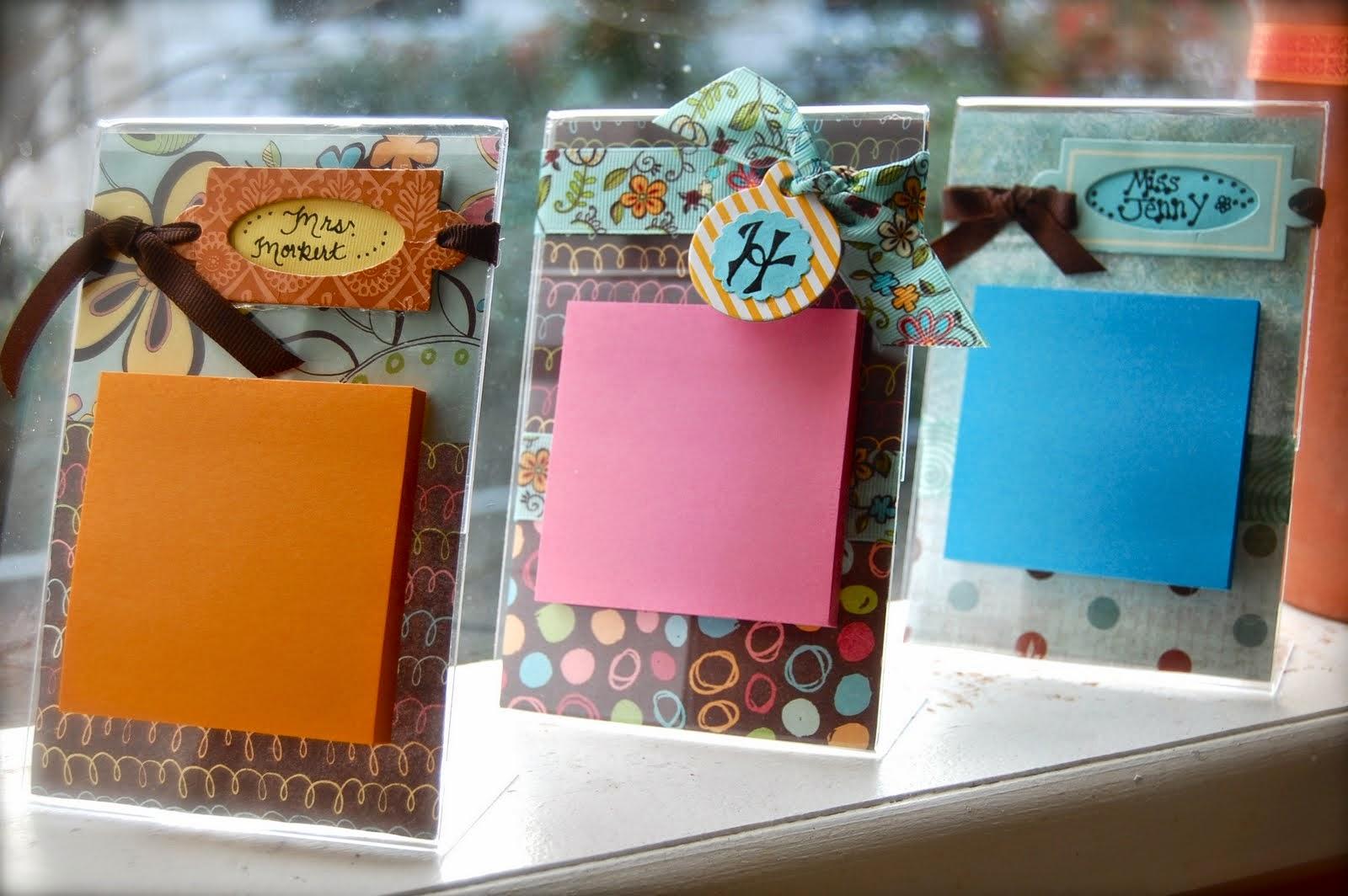 Scrapbook ideas for teachers - 10 Clever Diy Gift Ideas For Teachers No Mugs Allowed