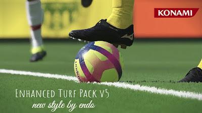 PES 2019 Enhanced Turf Pack v5 by Endo