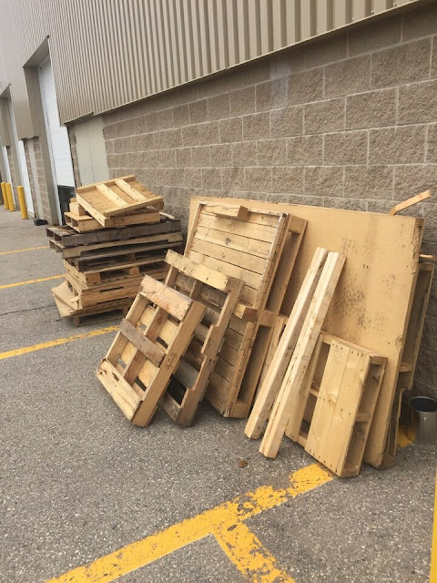 A plethora of pallets!