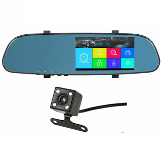 specchietto touch con retromarcia telecamera