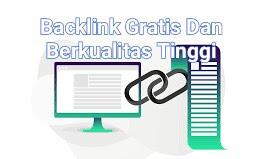 Pengertian, Manfaat Dan Cara Membuat Backlink Berkualitas Tinggi
