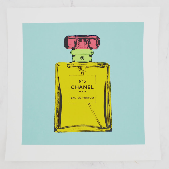 Lovelaughslipstick blog - BeArty Chanel No.2 Print Poster by MarkAshkenazi