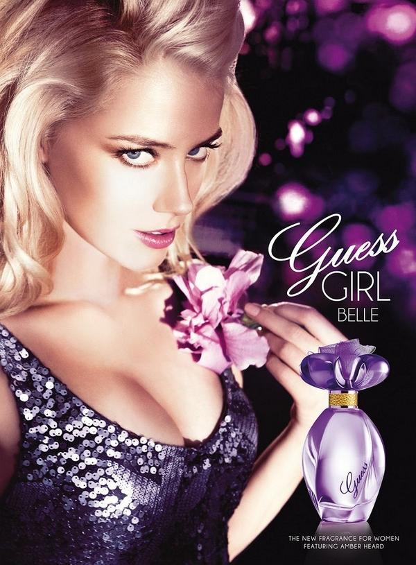 Amber Heard guess perfume