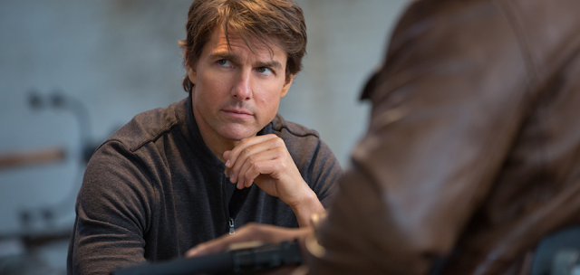 Tom Cruise în Mission: Impossible Rogue Nation