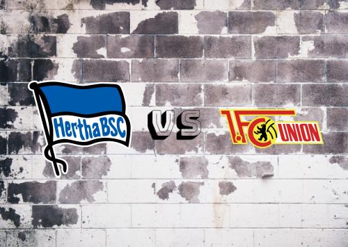 Hertha BSC vs Union Berlin  Resumen