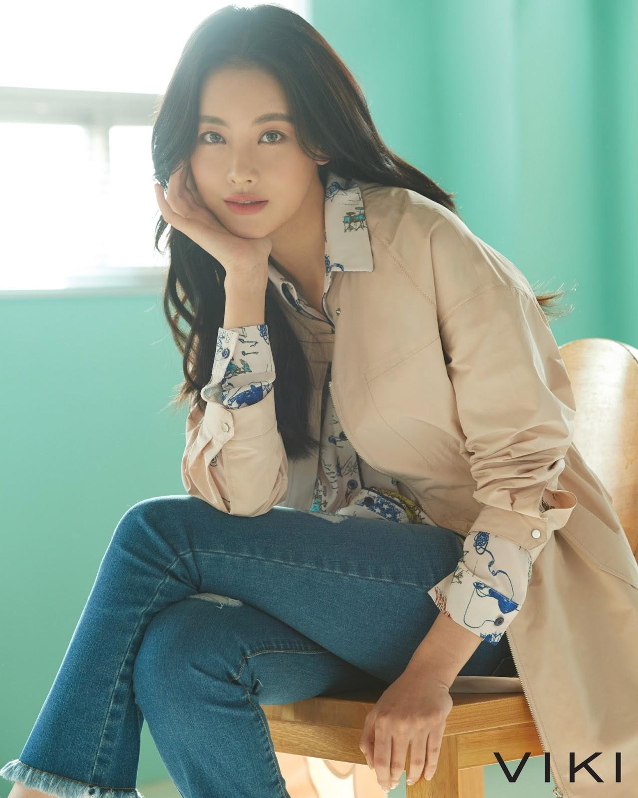 Oh Yeon Seo VIKI 2017 Fall / Winter: Daily Korean ShowBiz News