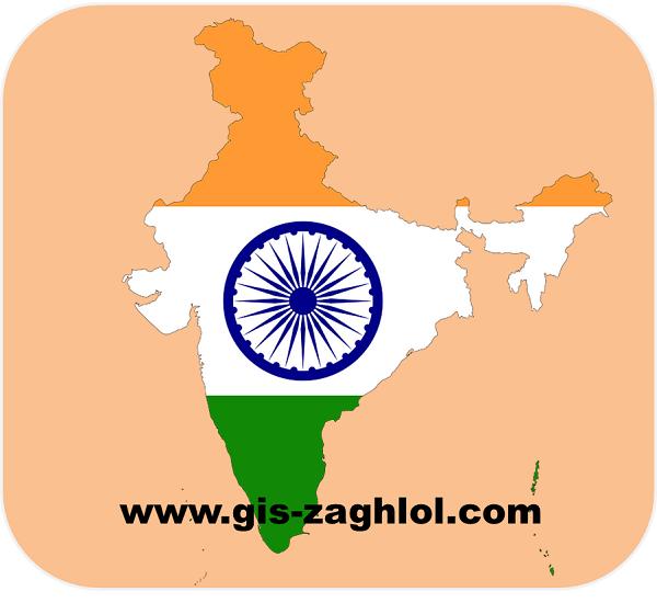 تحميل خرائط رقمية للهند Download digital maps of India