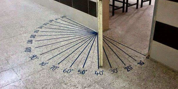 30 Extremely Intelligent School & University Ideas That Will Make You Jealous - This Door In A Math Classroom