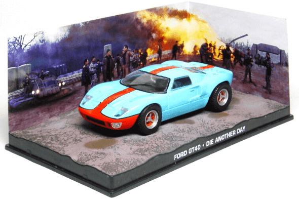 Ford GT40  Die another day 1:43