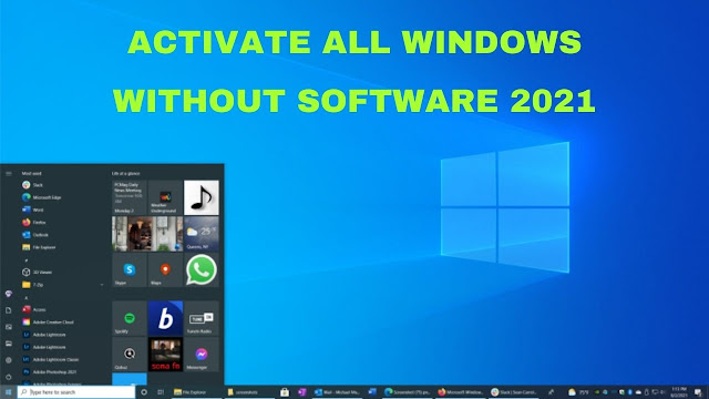 activate all windows version
