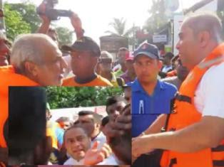 Wellampitiya flood victims condemned Isuru Devapriya Rauff Hakeem