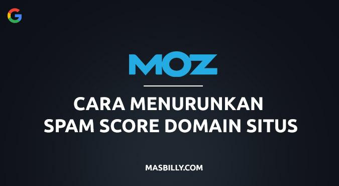 Cara Mudah Menurunkan Spam Score Domain Blog & Website dengan Disavow Link