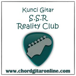 Chord Kunci Gitar Reality Club SSR