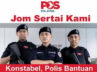 Jawatan Kosong Polis Bantuan Pos Malaysia Berhad