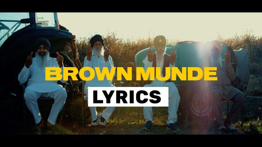 Brown Munde Lyrics In Hindi