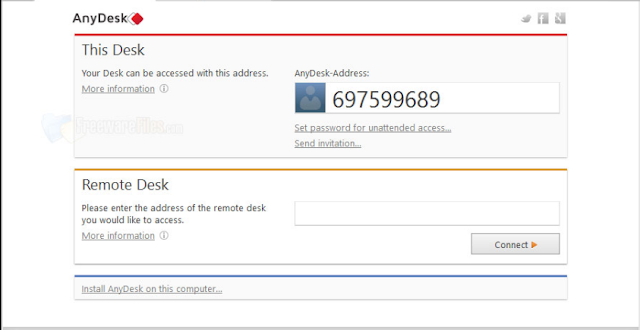 تحميل برنامج AnyDesk بديل teamviewer