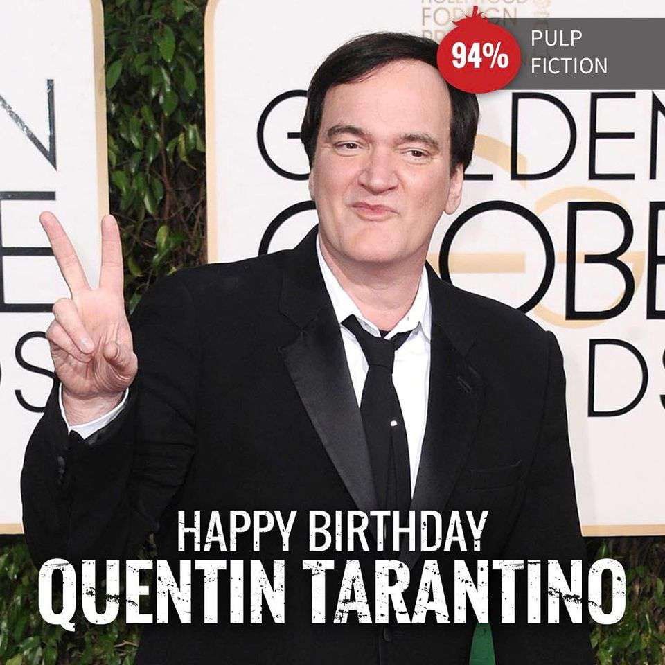Quentin Tarantino's Birthday Wishes pics free download