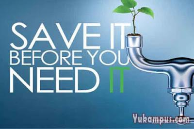 iklan layanan masyarakat hemat air