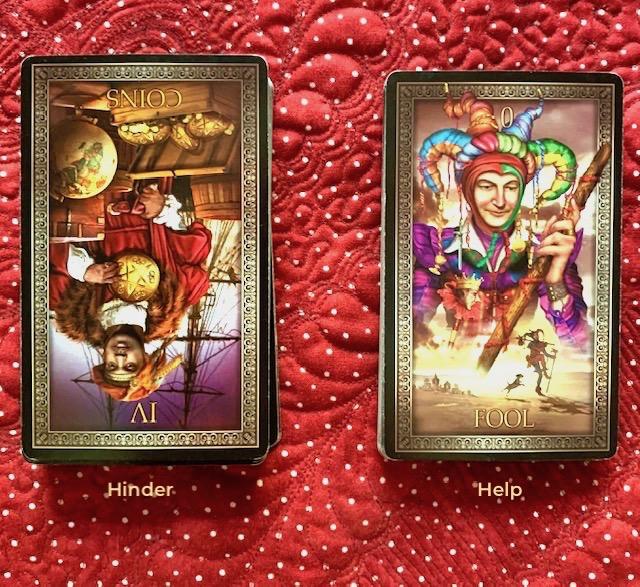 Mother-Tarot-4Pentacles-TheFool-Tarot-Grand-Luxe